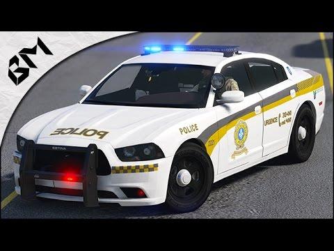 GTA 5 - LSPDFR - FUSILLADE - Police de Québec - Patrouille 24