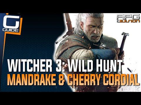 Witcher 3: The Wild Hunt - Mandrake & Cherry Cordial Merchants (White Gull Ingredients)