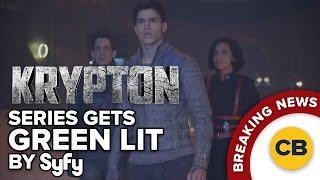 BREAKING: Krypton Series Green Lit by SyFy