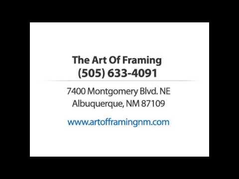 The Art Of Framing - 7400 Montgomery Blvd NE, Albuquerque, NM