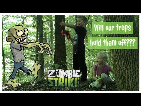 DIY Zombie Traps The Axel Show Can Build To Protect Their Tree Fort From The Zombie Apocalypse!!