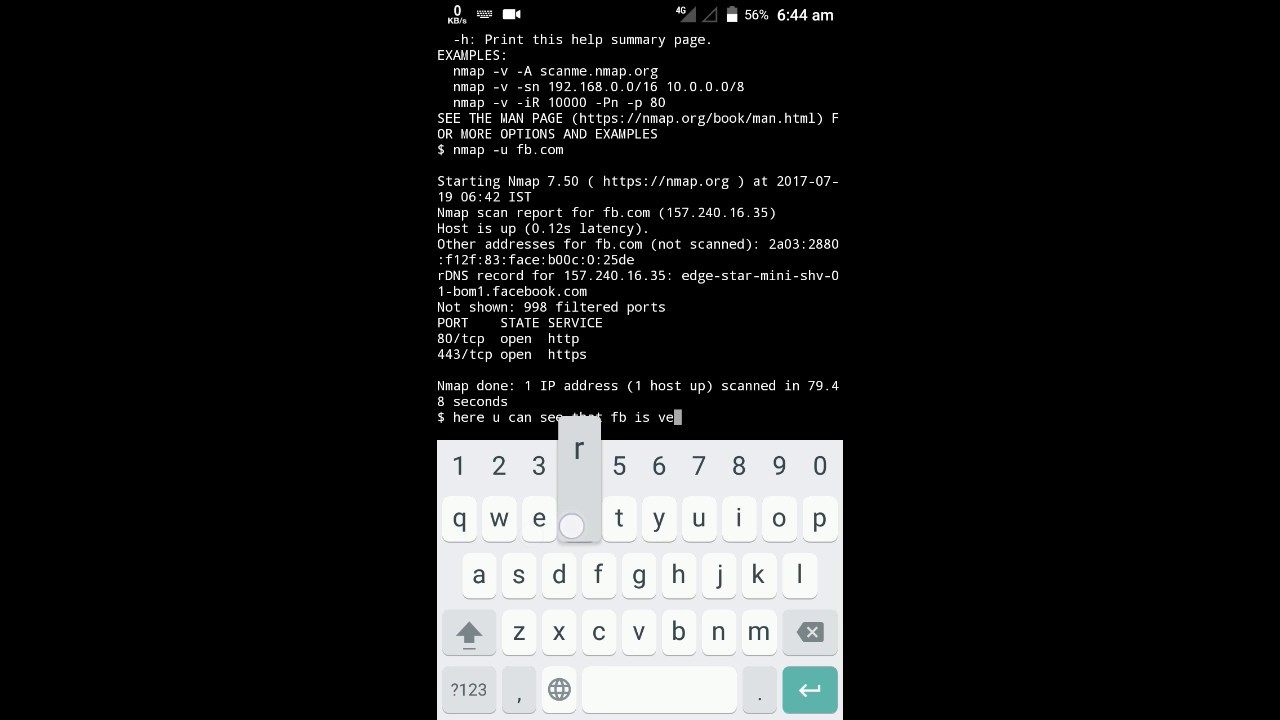 [ TERMUX ] the linux testing and hacking app on play store | Commands are  in description