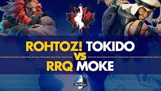 ROHTOZ! Tokido (Akuma) VS RRQ Moke (Rashid) - Canada Cup 2019 Pools - CPT 2019