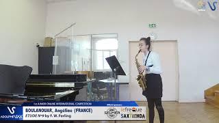 Angeline Boulanouar – Etude Ferling 9