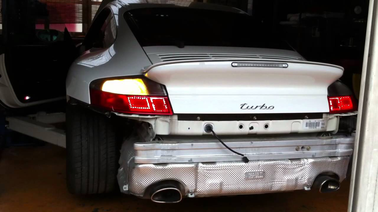 Porsche 996tt Led Tail Light 996turbo Youtube