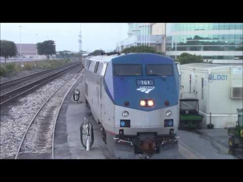 Amtrak Sunset Limited/Texas Eagle Switching at San Antonio, TX 6/25/17
