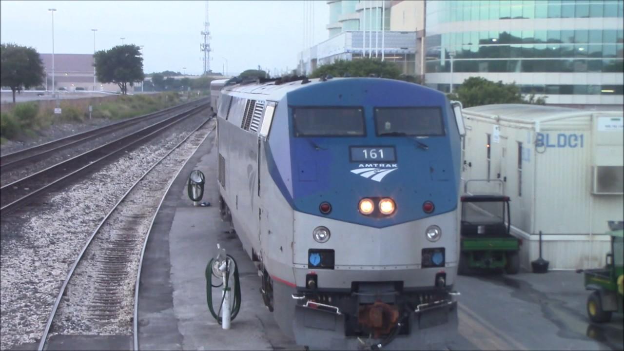 Amtrak Sunset Limited Texas Eagle Switching At San Antonio