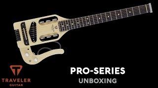Traveler Guitar Pro-Series Box Opening