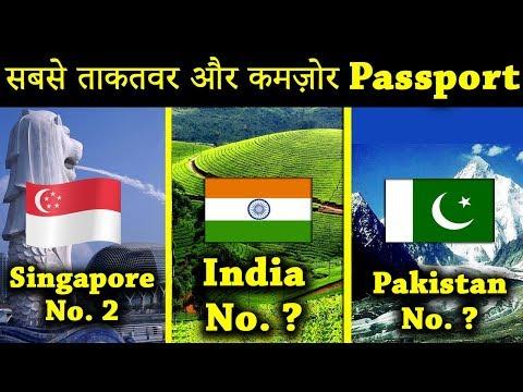 दुनिया के सबसे ताकतवर और कमजोर पासपोर्ट | Top 10 Strong and Weak Passports of World