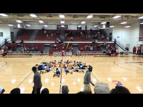 Peebles Elementary School Teams Of Tomorrow TOTS Halftime Show Killeen, Texas 1- 27-15