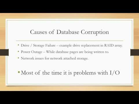 Database Corruption Challenge - Steve Stedman