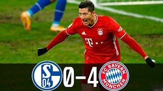 Бавария Шальке 4 0 Обзор Матча Чемпионата Германии 24 01 2021 HD