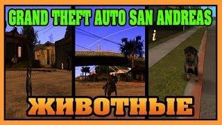 Обзор модов GTA San Andreas - Животные