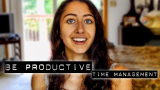 6 Time Management Tips From a Valedictorian // How to be More Productive