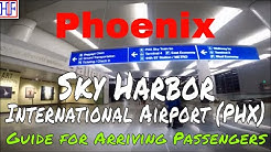 Phoenix Sky Harbor International Airport (PHX) - Arrivals and Ground Transportation Guide
