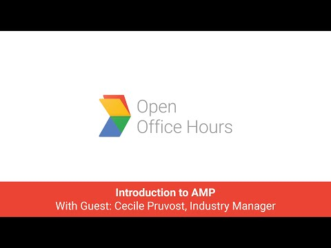 News Lab French AMP Office Hours: Introduction to AMP with Cecile Pruvost, Industry Manager, Serv...