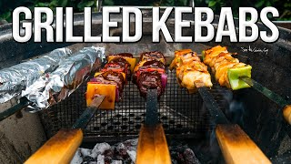 The Best Steak & Chicken Kebabs | SAM THE COOKING GUY 4K