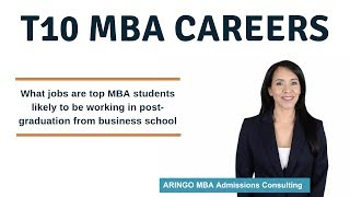 10 Most Popular Careers for MBA Graduates