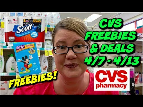 CVS FREEBIES & DEALS (4/7 – 4/13)   FREEBIES, $2 PULL-UPS, CHEAP PAPER PRODUCTS & MORE!