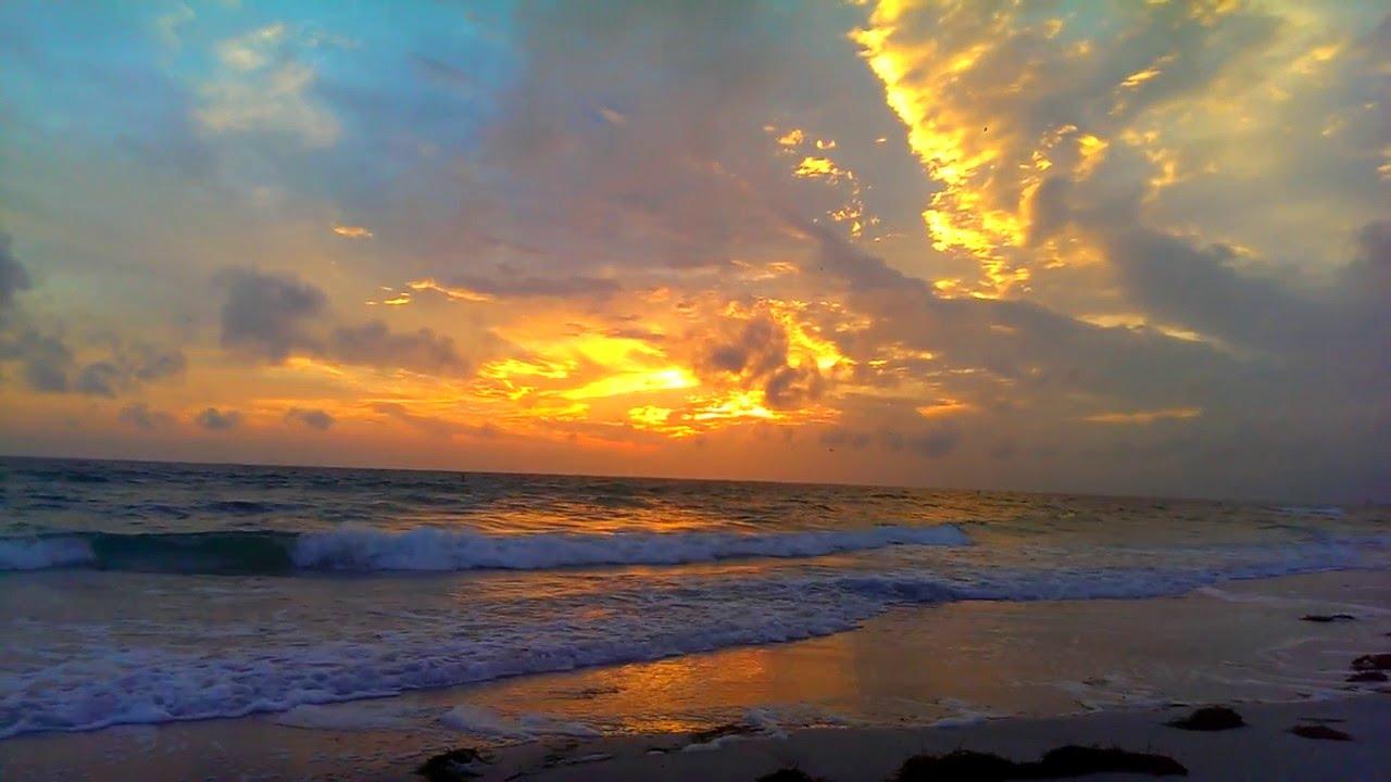 Just Plain Incredible Tonight On Sunset Beach In Treasure Island Florida