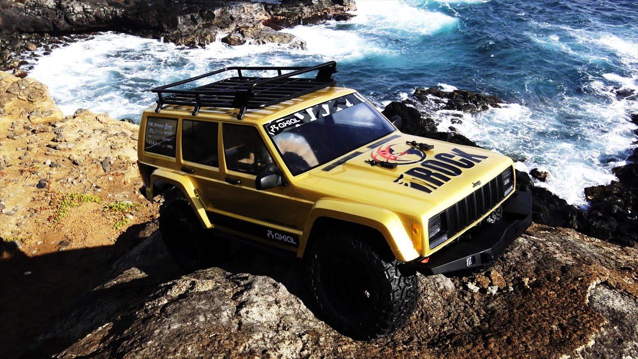 Axial Racing Scx10 Ii 2000 Jeep Cherokee First Run Youtube