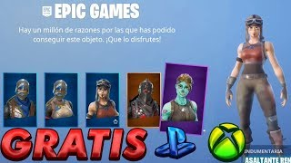 "How to get ALL FORTNITE BR"" PS4/XBOX EXCLUSIVE SKINS"""