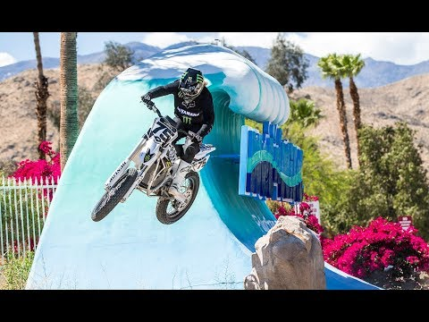 Electric Dirt Bike Rides In Water Park - Buttery Vlogs Ep23