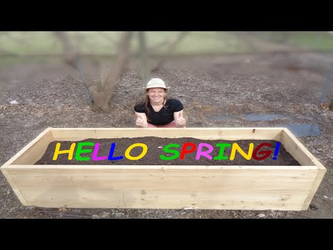 PLANTER BOX | How to get ready for the 2019 planting season with a DIY planter box: ( Spanish subs)