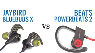 Beats Powerbeats 2 vs JayBird BlueBuds X
