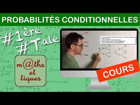 Download LE COURS : Probabilités conditionnelles - Première/Terminale
