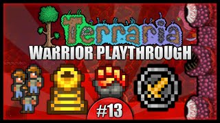 Let's Play Terraria 1.2.4 || Warrior Class Playthrough || Guide Murder & Preparations! [Episode 13]