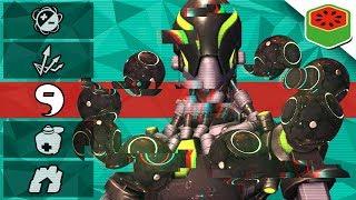 LAST MAN STANDING ANTI-GUN GAME! | Overwatch Custom Game