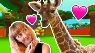 I ADOPTED A BABY ROBLOX GIRAFFE