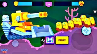 Tank Stars - MOUNTAIN Tank Boosters | Max Upgrade | (iOS, Andr…