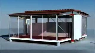 Trasforma un container in una villa di lusso! Facile! Guarda qua!