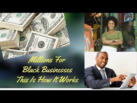 S. Graham: Millions For Black Entrepreneurs - Gloria Shares How It's Done