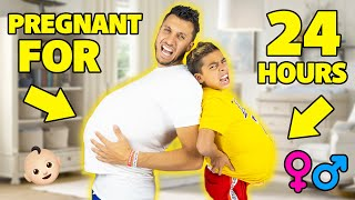24 Hours BEING PREGNANT In PUBLIC!! FUNNY CHALLENGE... | The Royalty Family