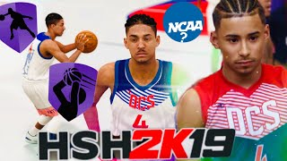 WILL JULIAN NEWMAN PLAY COLLEGE BASKETBALL ?! Hits 15 3 POINTERS - NBA 2K19 - High school Gameplay