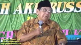 Ceramah Terbaik KH Abdurrahman Wahid (Gusdur) Haflah Akhirussanah Pesantren HD