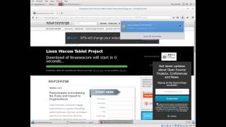 How to install wacom drivers on Redhat/CentOS