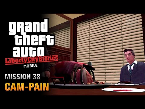 GTA Liberty City Stories Mobile - Mission #38 - Cam-Pain
