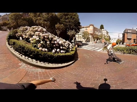 Freeboarding: San Francisco (360 Video)