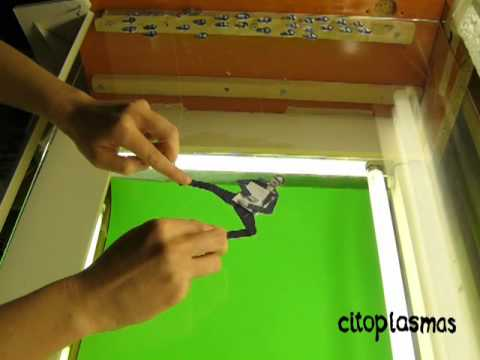 Making of cut-out animation for the play BURO