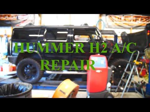 HUMMER AC REPAIR