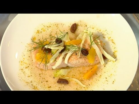 Olive Oil Poached Salmon From Chef Jennifer Carroll