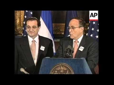 USA: NEW YORK: JEWISH FESTIVAL OF HANUKKAH CELEBRATIONS BEGIN