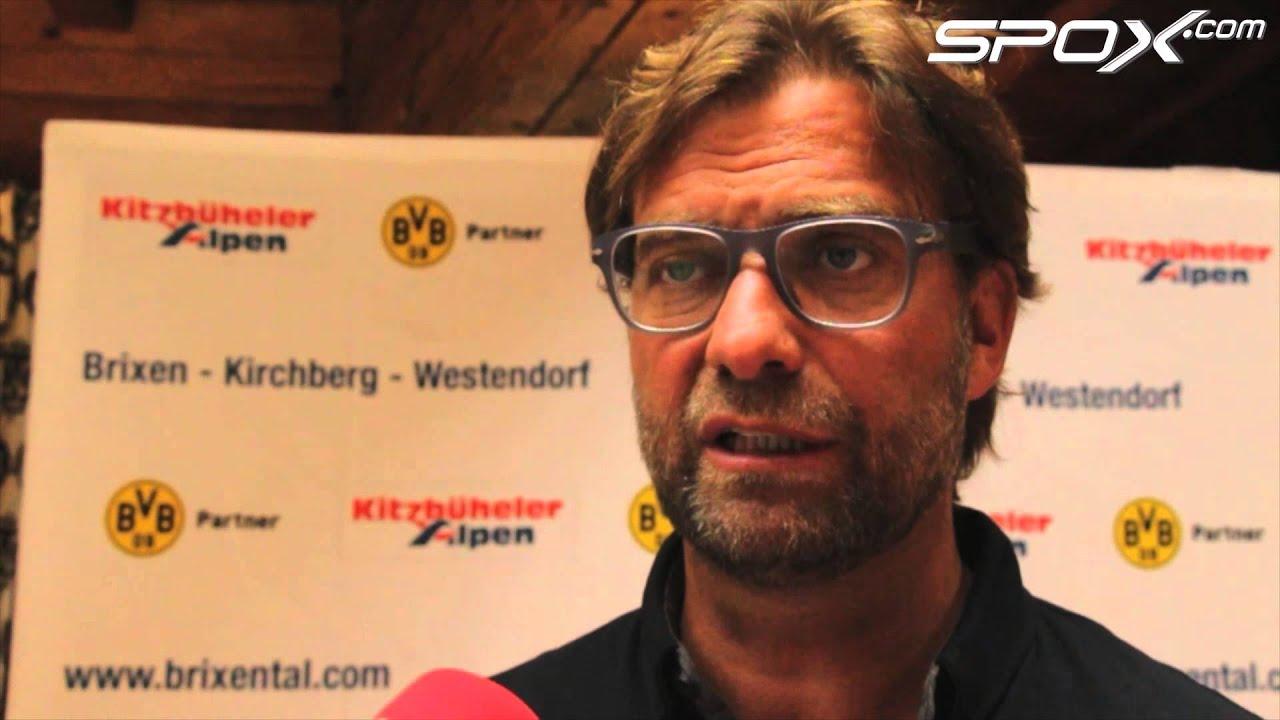 """Klopp über seinen neuen Stürmerstar Aubameyang: """"Außergewöhnlich gut""""   Borussia Dortmund"""