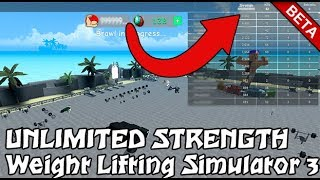 😱😱💪ROBLOX SCRIPT: Weight Lifting Simulator 3 (OP GUI) 🕴TP ANYWHERE!, UNLIMITED STRENGTH💪😱😱