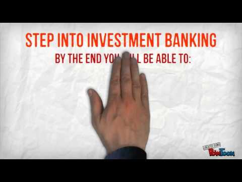 Chapter 1: Investment Banking-Objectives pt1