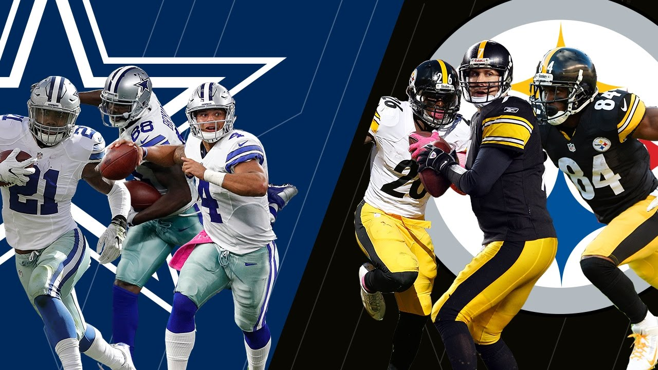 2611d19d Cowboys Big 3 or Steelers Big 3: Who Would You Rather Have? | NFL Now -  YouTube